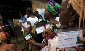 Voting commences in Liberia's presidential run-off