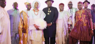 PHOTOS: Fayose, Wike attend traditional marriage of Mimiko's daughter