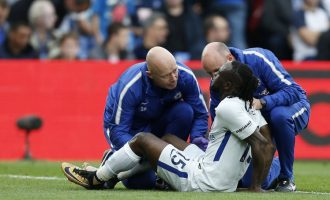 Moses injured as Palace stun Chelsea