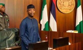Osinbajo meets with NAPTIP, NEMA over Nigerians stranded in Libya