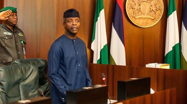 Osinbajo: Why I asked Baru to report to Kachikwu in Buhari's absence