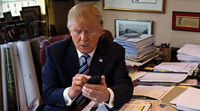 Tweeting helped me become USA  president, says Trump
