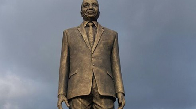 'Imo should destroy his statue'… Twitter reacts to Zuma's resignation