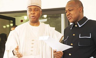 Saraki, Dogara: Why we can't reconvene national assembly