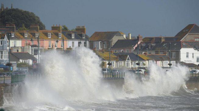 Three killed as hurricane Ophelia hits UK