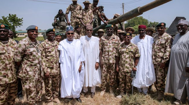 X-raying Buhari's symbolic visit to troops