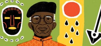 Chinua Achebe honoured with Google Doodle on posthumous birthday