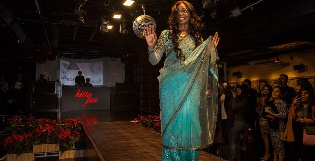Disfigured women take part in fashion show