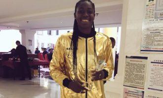 Oshoala wins best striker award in Chinese women's league