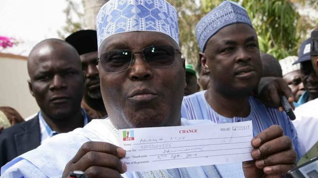Atiku Abubakar Defects From APC
