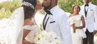 PHOTOS: Banky W and Adesuwa Etomi wed in South Africa