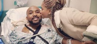 Banky W undergoes surgery for 'rare strain of skin cancer'