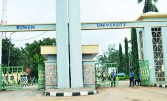 Bowen University awards first class degrees to 81 graduates