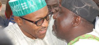 Okorocha begs Buhari: Use your magic to make Nwoye governor