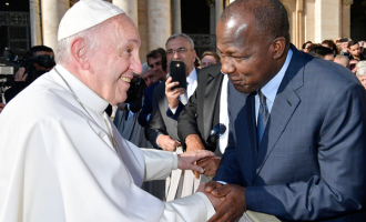 PHOTOS: Pope receives Dogara in Rome