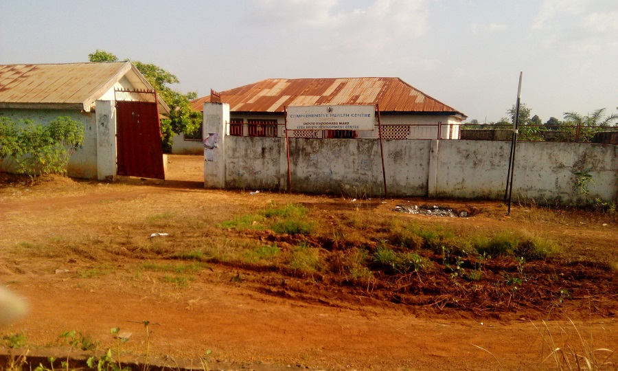 The community health centre in Okposi Umuoghara