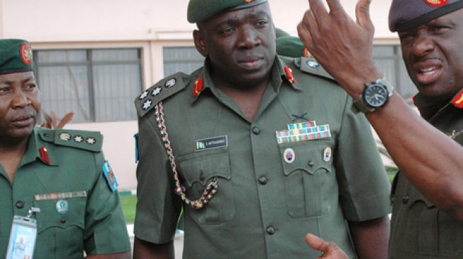 Army Replaces Commander in War Against Boko Haram After Six Months