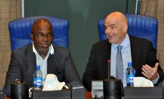 FIFA on NFF crisis: Pinnick is legitimate president… Nigeria risk ban