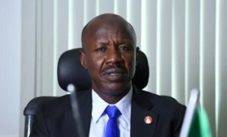 Magu 'suspended' as EFCC chairman