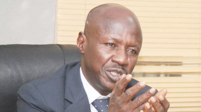EFCC determines to go after Ekpeyong, Oke - Magu
