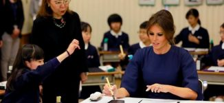 EXTRA: Trump's wife back to elementary school