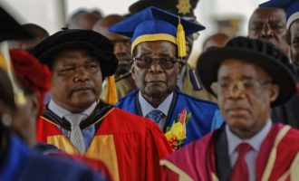 Mugabe appears in public — first time since military takeover