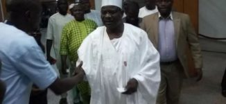 Ndume returns from suspension, pays tribute to 'landlord' Adeleke