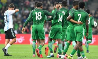 'Okorocha should build statues for Eagles' — reactions to Nigeria's defeat of Argentina