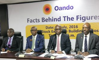 Oando: Tax credit saves profit at half year
