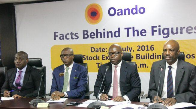 Oando: Tax credit saves profit at half year