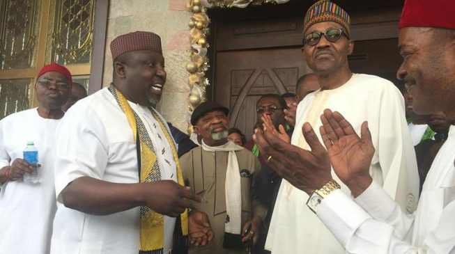 Okorocha says 34 governors have endorsed Buhari for 2019