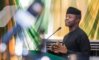 Senate leader visits Osinbajo at Aso Rock