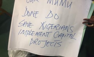 Drama as PDP reps plan anti-Buhari protest