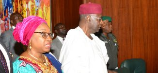 EXTRA: Angry Oyo-Ita in heated exchange with Kyari at Aso Rock