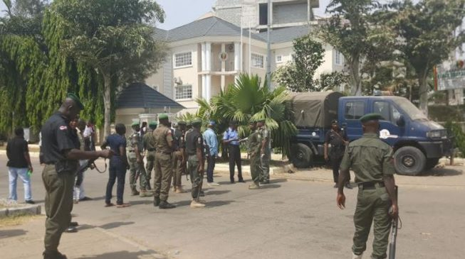 'Direct IGP to unseal our headquarters' – Peace Corps begs Buhari