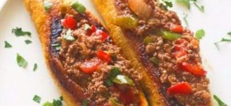 Quick Recipes: How to make stuffed baked plantain, Moroccan chicken & peppers