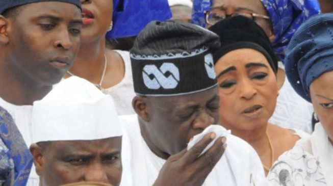 Image result for Tinubu's Ex-Wife & Mother Of His Son Is Dead