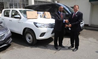 US donates tactical equipment to NDLEA