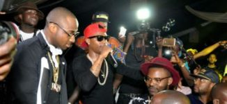 Wizkid, Davido earn praise from Buhari over Mobo awards success