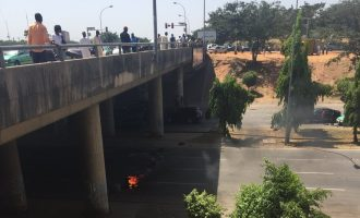 VIDEO: 'Attack on driver' sparks riot in Abuja