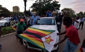 VIDEO: Jubilation in Zimbabwe as Mugabe bows out