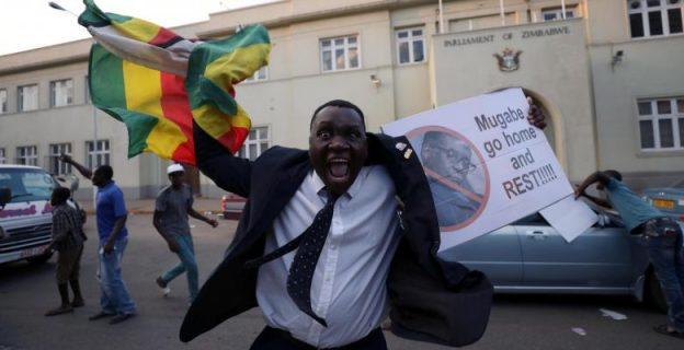 Zimbabweans celebrate