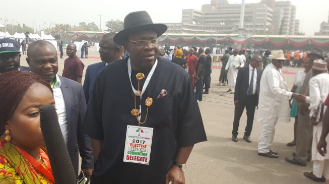 Dickson says reconciliation committee will address grievances from PDP convention