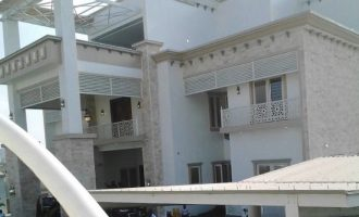 PHOTOS: Gov Yahaya Bello opens his new mansion (no, don't talk about unpaid salaries)