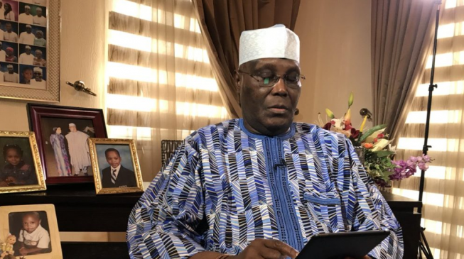 Presidency Slams Atiku Over Claim Buhari 'Banned From America'