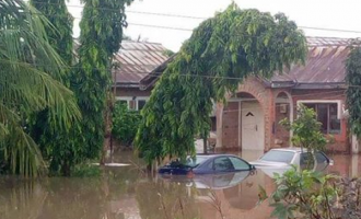 Yahaya Bello 'runs to' Buhari over flood in 10 Kogi LGAs
