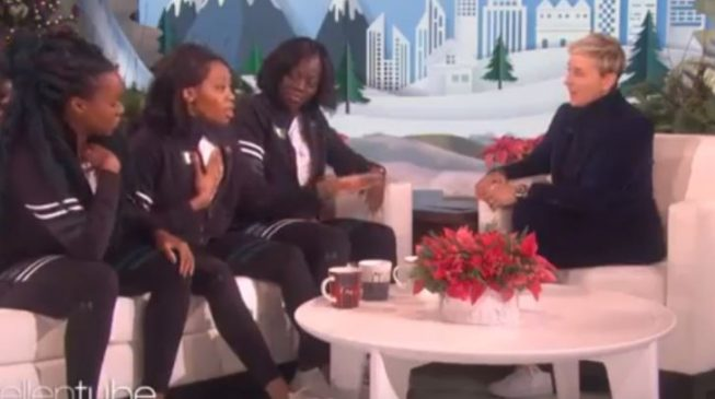 WATCH: Nigeria's history-making bobsled team chat with Ellen DeGeneres
