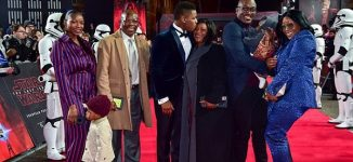 PHOTOS: John Boyega shares spotlight with family at Star Wars premiere