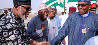 Buhari returns from Paris