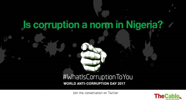 Nigeria's corruption problem: Is getting worse a step to getting better?